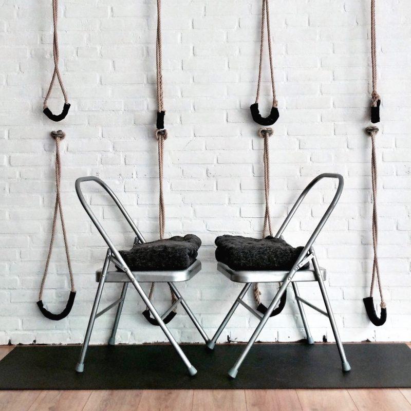 Iyengar chairs